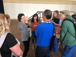 Naomi Oreskes answering questions