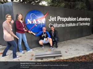 Participants excited to visit JPL
