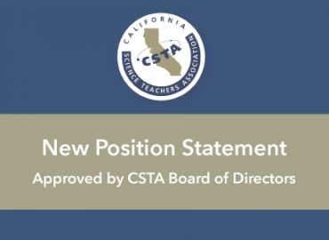 CSTA Approved NEW Position Statement